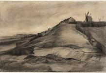 Vincent van Gogh, The Hill of Montmartre with Stone Quarry, March 1886 collection Van Vlissingen Art Foundation