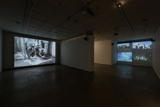 Jonas Mekas, The Brig 1964, Destruction Quartet 4, channel video installation 2006, Again, Again It All Comes Back to Me in Brief Glimpses