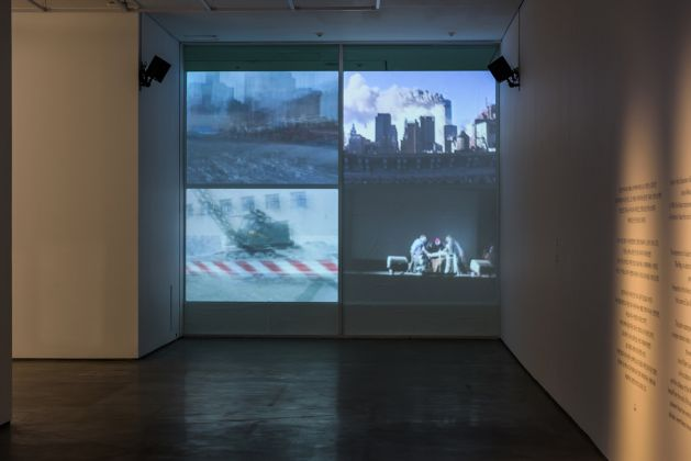 Jonas Mekas, Destruction Quartet_4 channel video installation_duration variable each_2006, Again, Again It All Comes Back to Me in Brief Glimpses, Seoul