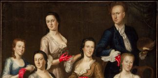 The Greenwood Lee Family, about 1747, John Greenwood