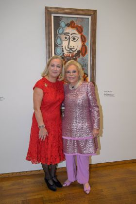 Agnes Husslein-Arco e Heidi Horten, VIP Preview WOW! The Heidi Horten Collection Ausstellungseröffnung, Leopold Museum, Wien, 14.2.2018