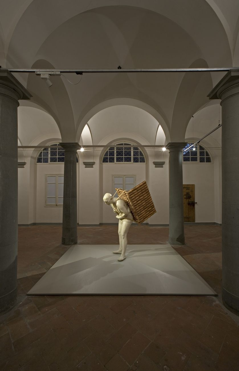 Adrian Paci. Di queste luci si servirà la notte. Installation view at Le Murate, Firenze 2018