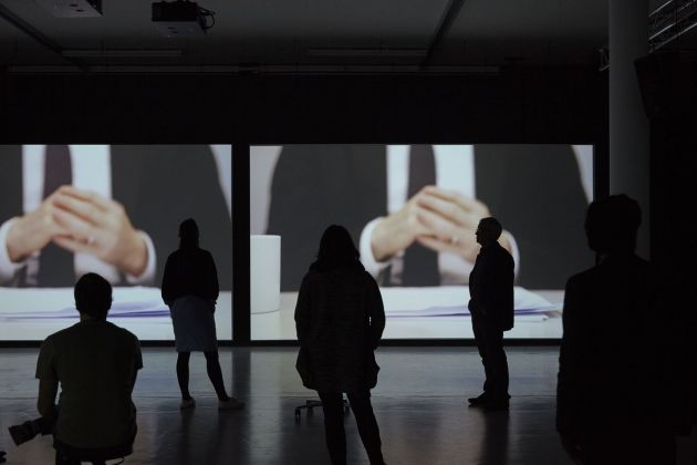 Cally Spooner, And You Were Wonderful, On Stage, 2013-15. Installation view at Spike Island, Bristol. Photo Stuart Whipps