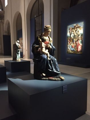 L'Eterno e il Tempo tra Michelangelo e Caravaggio. Exhibition view at Musei di San Domenico, Forlì 2018
