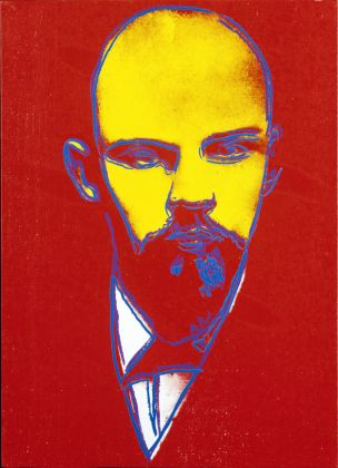 Andy Warhol Lenin, ca. 1986 55,5 x 40,5 x 2 cm Acryl und Siebdruck auf Leinwand Courtesy Heidi Horten Collection © The Andy Warhol Foundation for the Visual Arts, Inc. / Licensed by Bildrecht, Wien, 2017