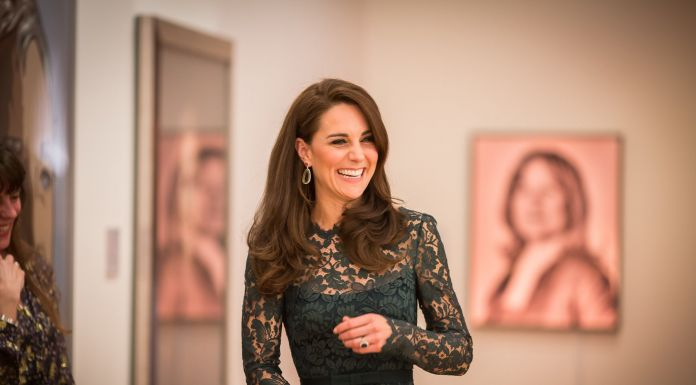 HRH The Duchess of Cambridge at the National Portrait Gallery by Noah Goodrich, 2017