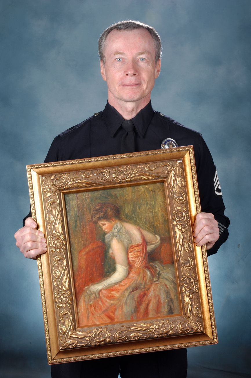 Don Hrycyk del LAPD - Los Angeles Police Department Art Theft Detail