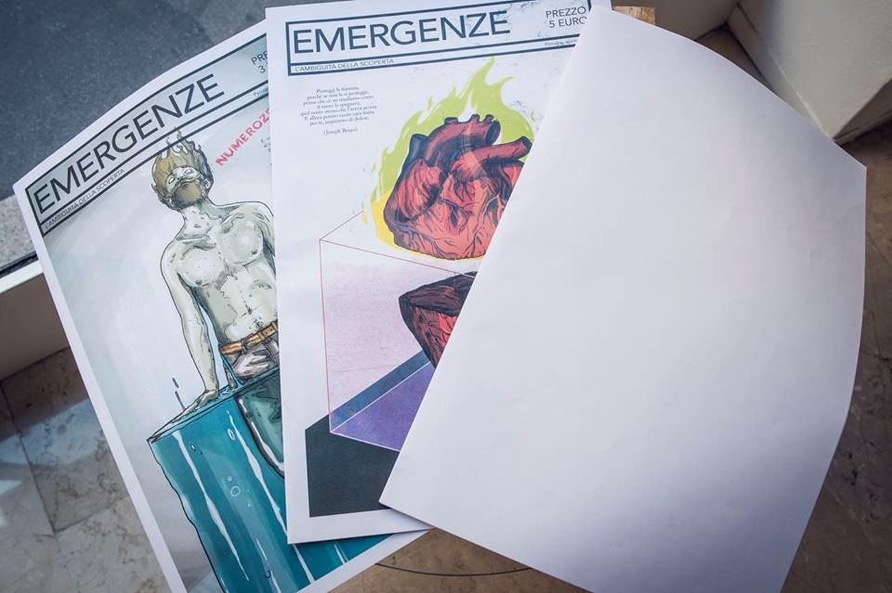 Emergenze magazine. Photo Alberto Brizioli