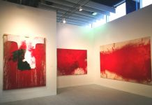 Hermann Nitsch, installation view Marc Straus New York, ph. Mariacristina Ferraioli