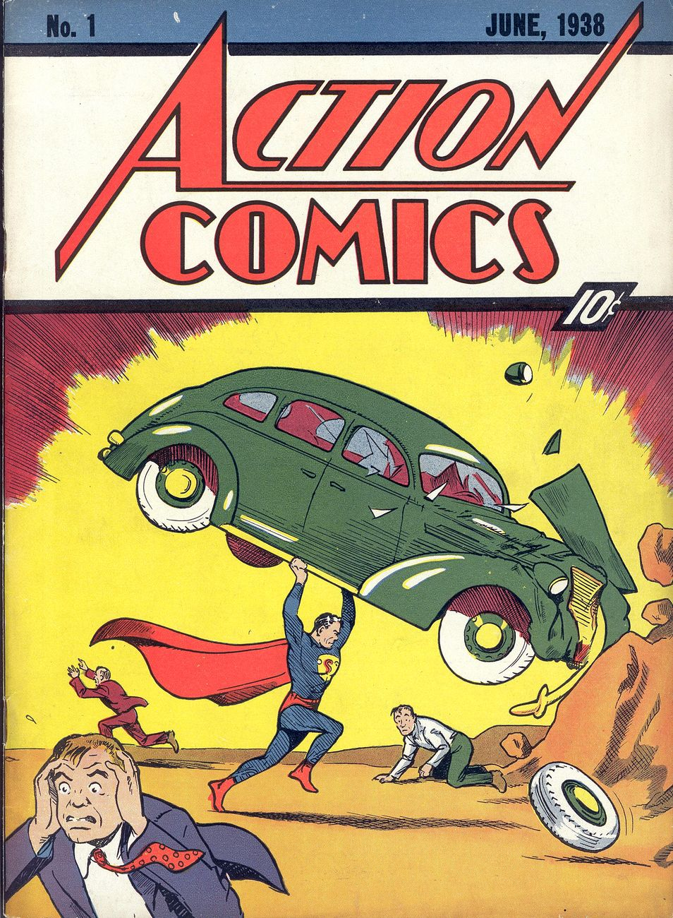 Il primo numero di Action Comics recuperato dal LAPD Los Angeles Police Department Art Theft Detail