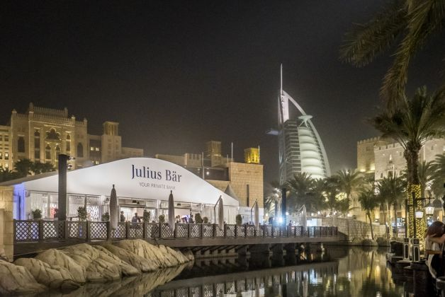 Julius Baer Lounge, Art Dubai 2017, courtesy of Photo Solutions
