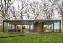 Philip Johnson, The Glass House. New Canaan, 1949