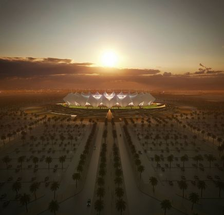 Schiattarella Associati, Stadio King Fahd. Courtesy Schiattarella Associati