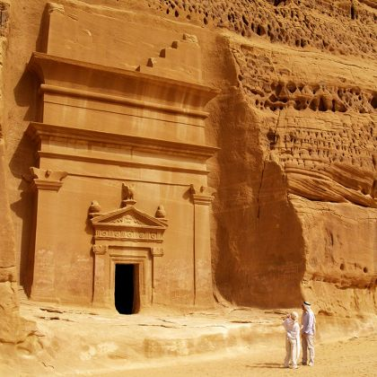 Un viaggio a Madain Saleh, 2012. Courtesy Schiattarella Associati