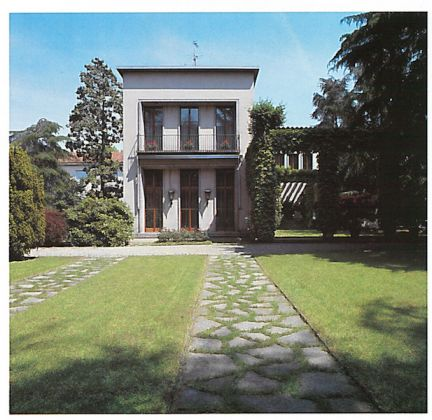 Villa Borsani, Varedo. Image Courtesy of Pietro Carrieri