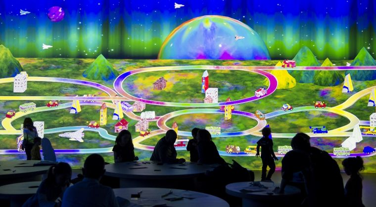 Learn & Play!teamLab Future Park @OGR (Photo by Giorgio Perottino/Getty Images for OGR)