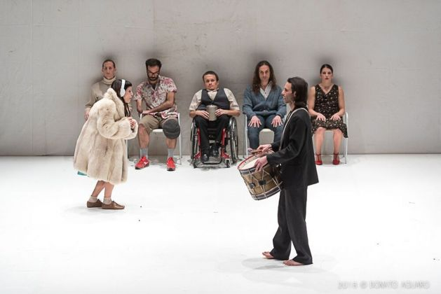 Compagnia Balletto Civile, Badlambs. Photo Donato Aquaro