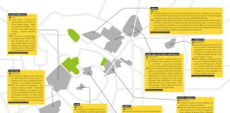 Milano Design Districts (c) Artribune Magazine. Grafica Alessandro Naldi