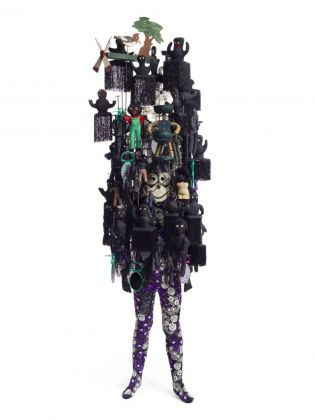 Nick Cave, Soundsuit NC11.018, 2011. Courtesy Sindika Dokolo Foundation, Bruxelles