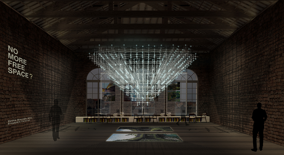 Front Elevation ∏ Singapore Pavilion, 16th International Architecture Exhibition, La Biennale di Venezia