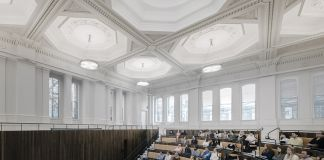 The Benjamin West Lecture Theatre © Simon Menges