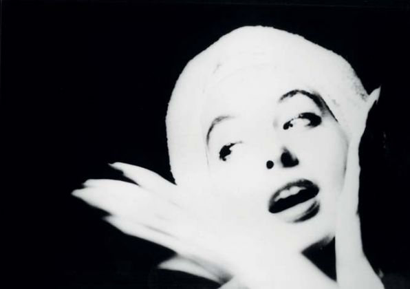 Lillian Bassman, A report to Skeptics Suzy Parker for Harpers Bazaar, 1952, copyright The Estate of Lillian Bassman