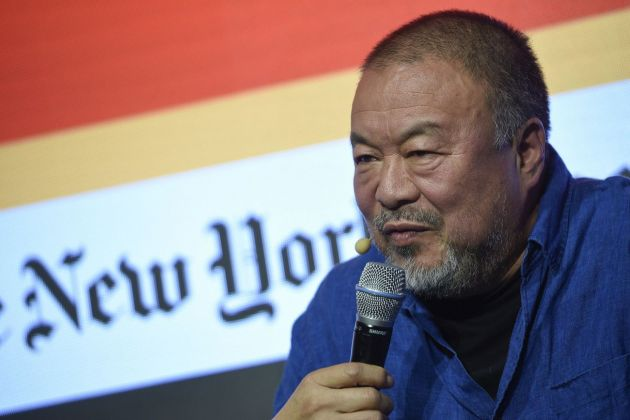 Ai Weiwei. Photo credit The New York Times Art Leaders Network