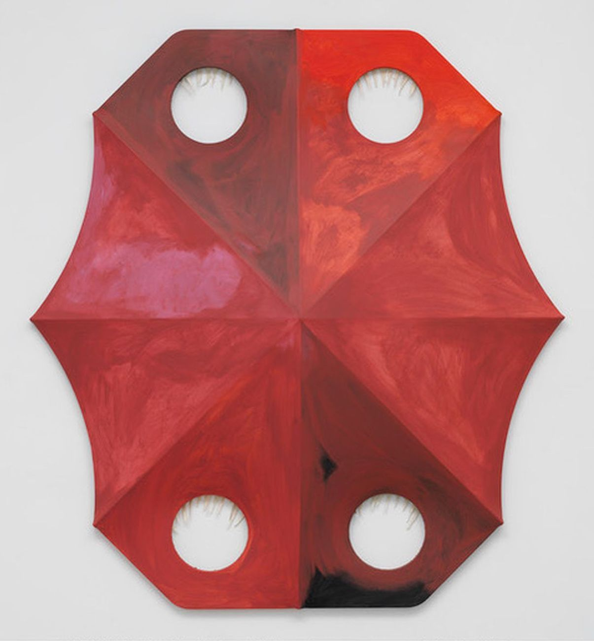 Blair Thurman, Profondo Rosso, 2018. Courtesy l'artista e Gagosian