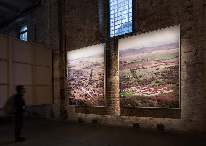Souto Moura – Arquitectos, Eduardo Souto de Moura, Vol de Jour, 2018, Photo Printed in 3MM PVC Panel. 16. Mostra Internazionale di Architettura - La Biennale di Venezia, FREESPACE. Photo by Francesco Galli. Courtesy: La Biennale di Venezia
