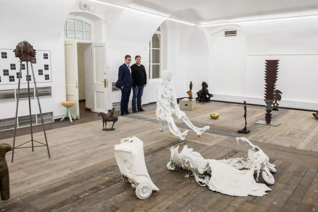 General Rehearsal. Exhibition view at MMOCA - Moscow Museum of Modern Art, Mosca 2018. Mike Nelson