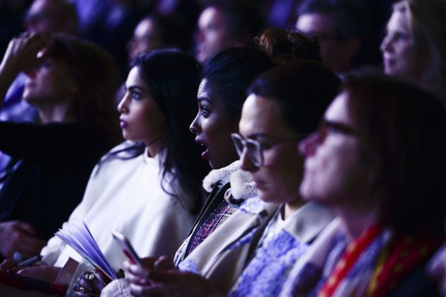 Il pubblico pagante al summit. Photo credit The New York Times Art Leaders Network