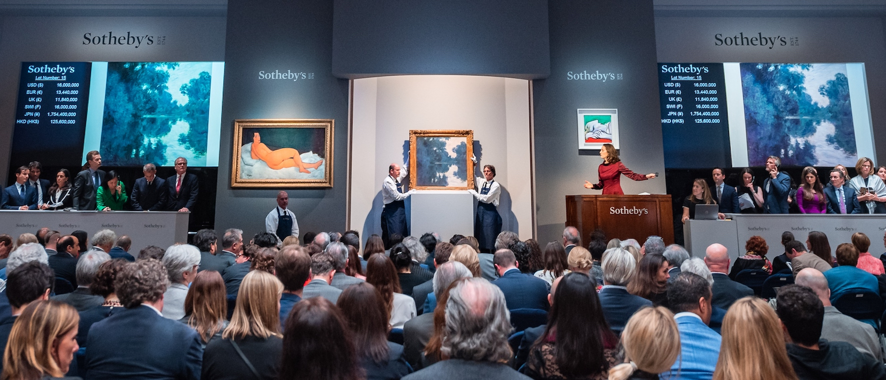 Impressionist & Modern Art Evening Sale Sotheby's