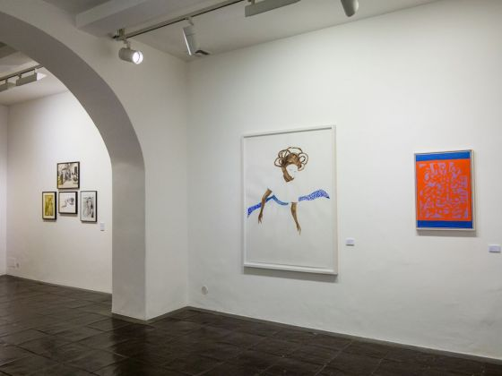 Is Pink just a color?. Exhibition view at Galleria Paola Verrengia, Salerno 2018