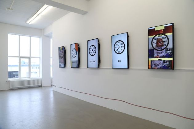 Sara Magenheimer, No Clock (You can't be late twice), 2017. Courtesy the artist