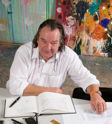 Will Alsop. Photo C. Malcolm Crowthers