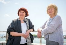 Yvonne Farrell e Shelley McNamara. Photo Andrea Avezzù. Courtesy of La Biennale di Venezia