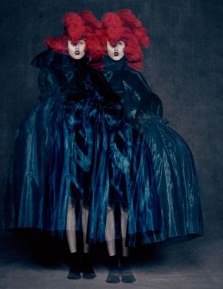 Blue Witch, Spring 2016. Courtesy Comme des Garçons. Photo © Paolo Roversi. Courtesy of The Metropolitan Museum of Art