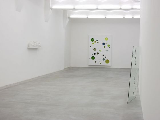 Francesco Carone, Maleström, 2008, exhibition view, SpazioA, Pistoia