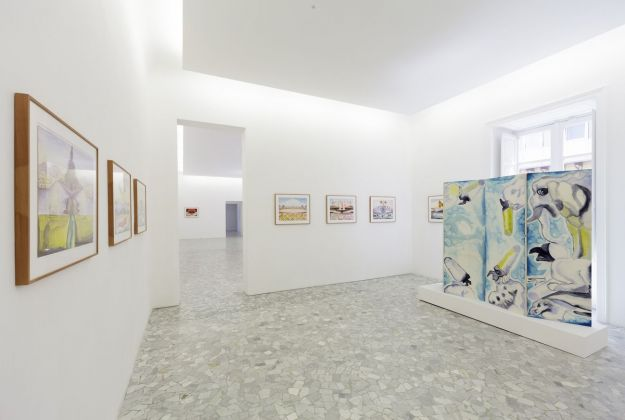 Francesco Clemente. Napoli è. Exhibition view at CasaMadre Arte Contemporanea, Napoli 2018
