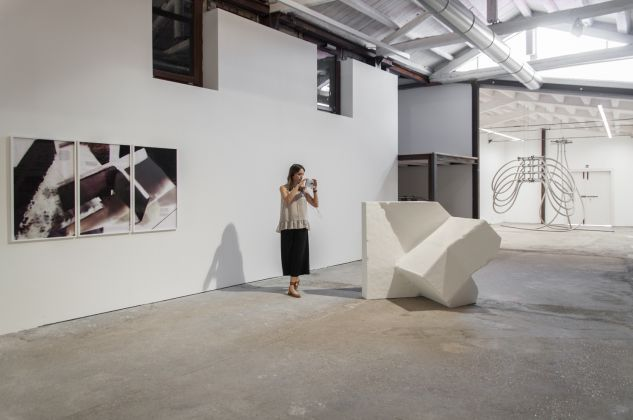 Marie Lelouche, exhibition view at Extedend architectures, Galleria Alberta Pane, Venezia 2018, photo Irene Fanizza