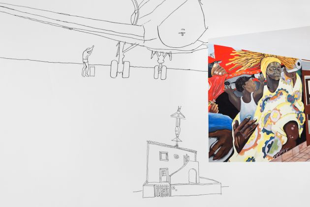 Ângela Ferreira. Pan African Unity Mural. Courtesy of EDP Foundation ©Bruno Lopes