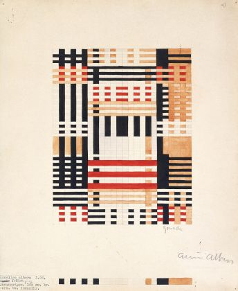 Anni Albers, Design for Wall Hanging 1926, Museum of Modern Art, New York, Gift of the designer © 2018 The Josef and Anni Albers FoundationArtists Rights Society (ARS), New YorkDACS, Londra