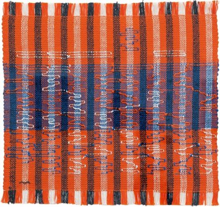 Anni Albers, Intersecting 1962, Josef Albers Museum Quadrat Bottrop © 2018 The Josef and Anni Albers FoundationArtists Rights Society (ARS), New YorkDACS, Londra