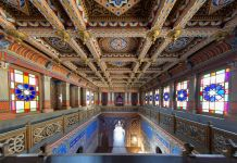 Castello di Sammezzano, Reggello. Photo Michele Squillantini