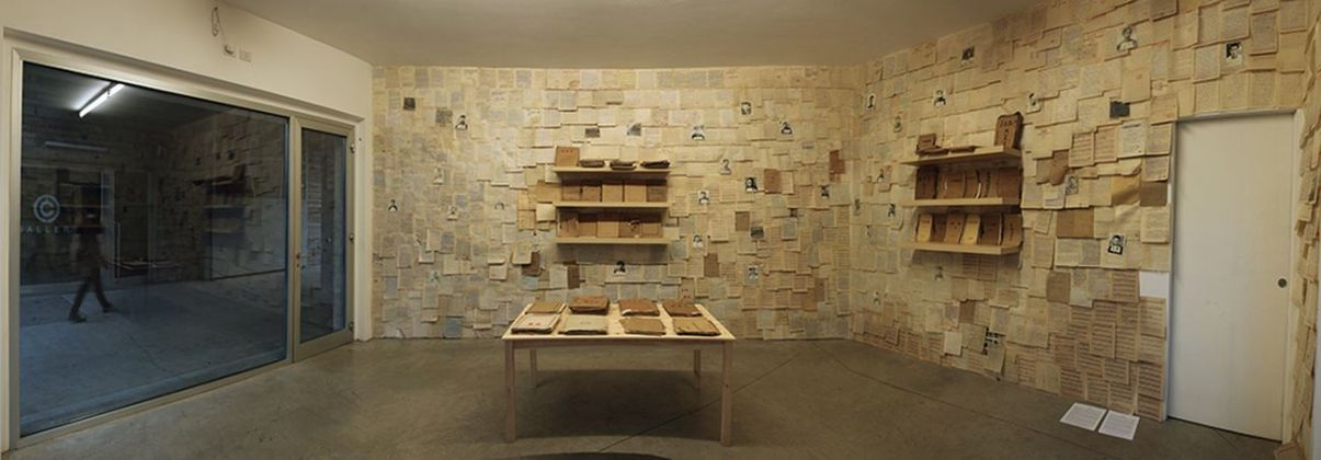 Mao Tongqiang, The Archive, 2018. Courtesy Prometeogallery, Milano