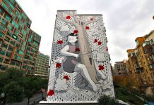 Millo, Shanghai, 2017. Photocredits Millo (Francesco Camillo Giorgino) e Eleonora Avino