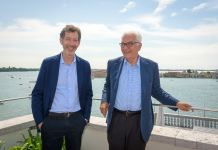 Ralph Rugoff e Paolo Baratta, Photo by Andrea Avezzu', Courtesy of La Biennale di Venezia