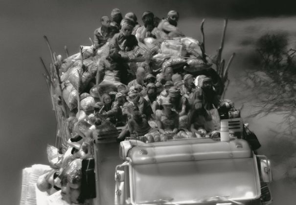 Richard Mosse, Incoming, 2016, still da video. Courtesy carlier gebauer & Jack Shainman Gallery © Art Basel