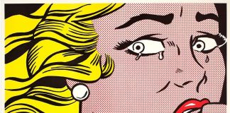 Roy Lichtenstein, Crying Girl, 1963. Estate of Roy Lichtenstein SIAE 2018