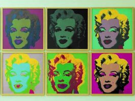 Andy Warhol. Marylin Monroe, 1967. Porfolio di 10 serigrafia, edizioni da 250. Collezione Lanfranchi, Celerina (CH). © The Andy Warhol Foundation for the Visual Arts Inc. by SIAE 2018
